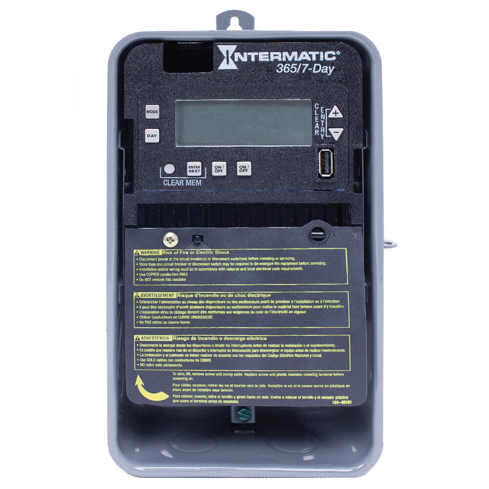 Pre-Programmed 7-Day Water Heater Timer redirect to product page