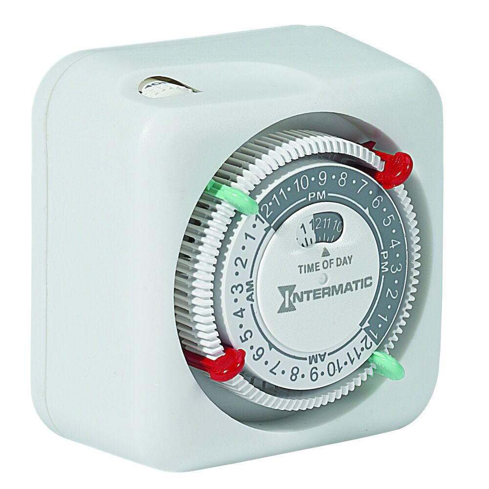 Premium Indoor Plug-in Timer with Removable Trippers redirect to product page