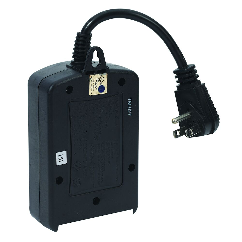 Outdoor Light Sensing Plug-in Timer with Easy Presets redirect to product page