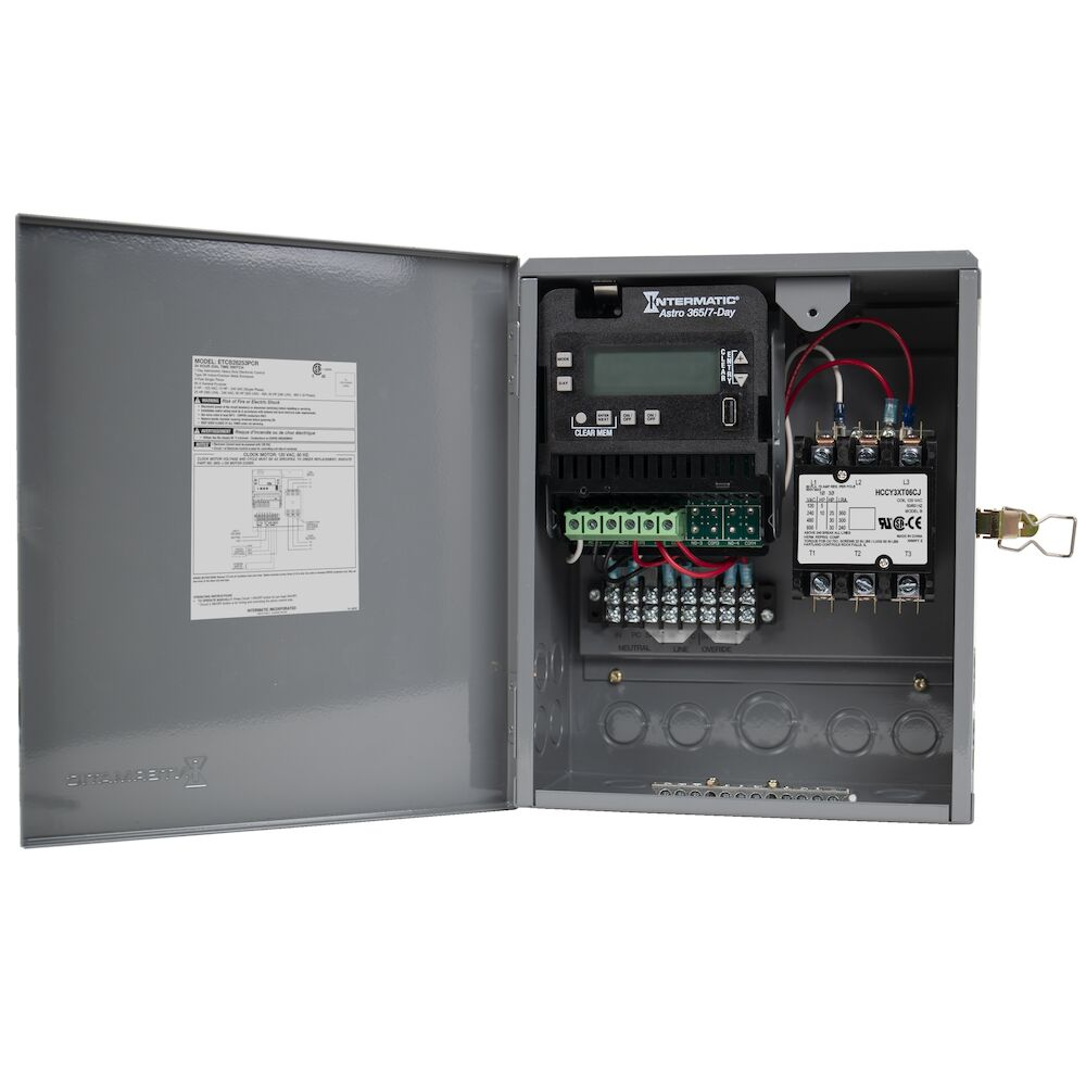 Electronic All-Purpose Contractor Box, 120 - 480 VAC, 60 Hz, 3PST, Outdoor Metal Enclosure redirect to product page