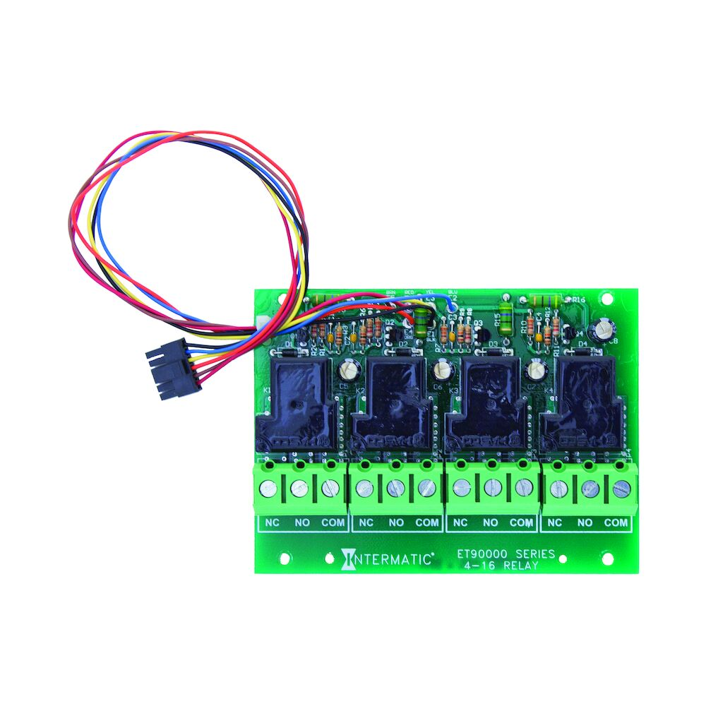 4-Circuit Relay Board for Upgrade or Replacement of ET90415CR-ET91615CR Panels redirect to product page