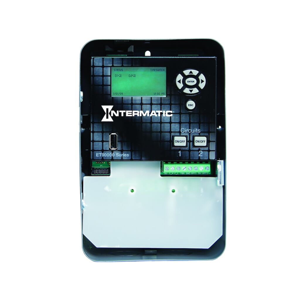 Astronomic 365-Day 2-Circuit Electronic Control, 120-277 VAC, 50/60 Hz, 2-SPDT, Indoor Metal Enclosure, Ethernet Optional redirect to product page