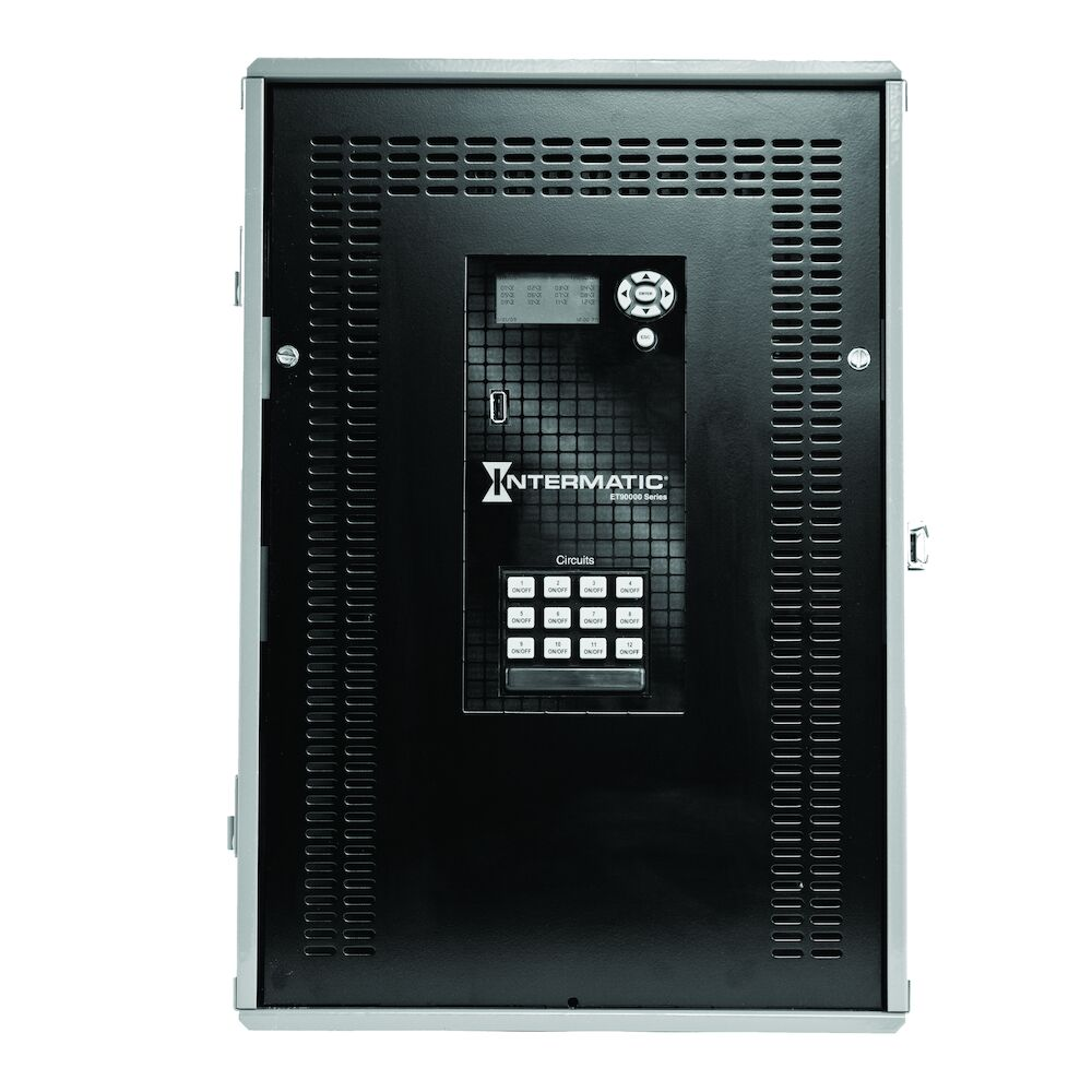 Astronomic 365-Day 12-Circuit Electronic Control, 120-277 VAC, 50/60 Hz, 12-SPDT/6-DPDT, Outdoor Metal Enclosure, Ethernet Included redirect to product page