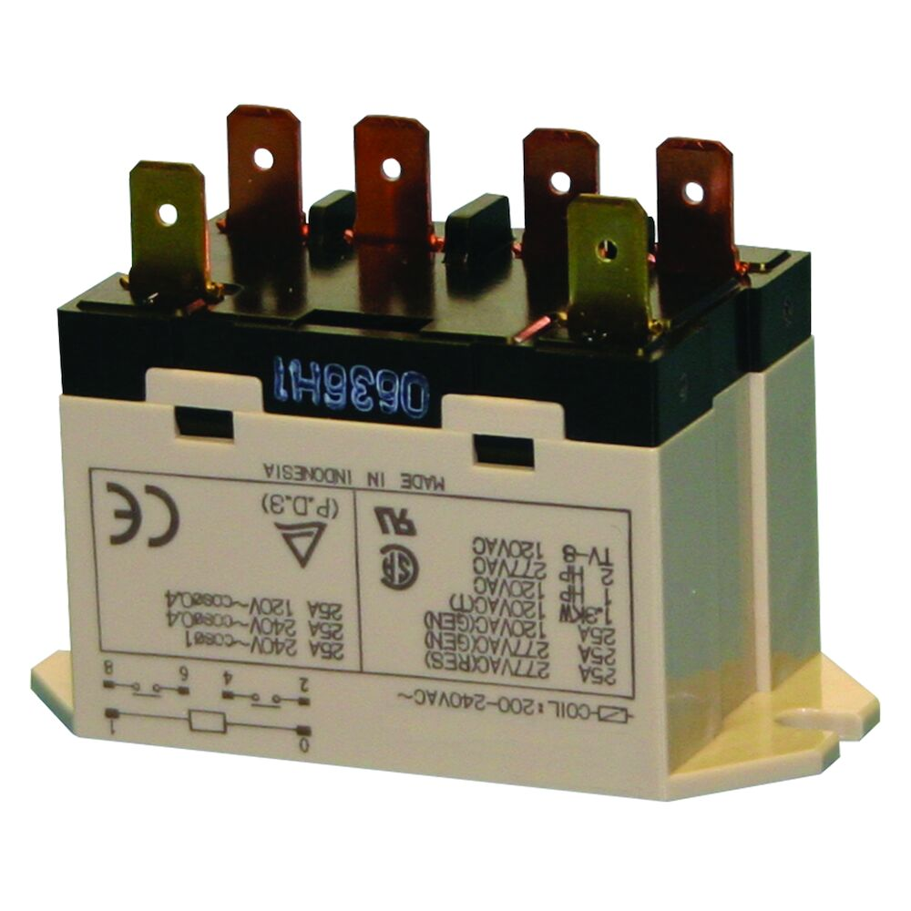 Relay - DPST, 3 HP, 240 VAC redirect to product page