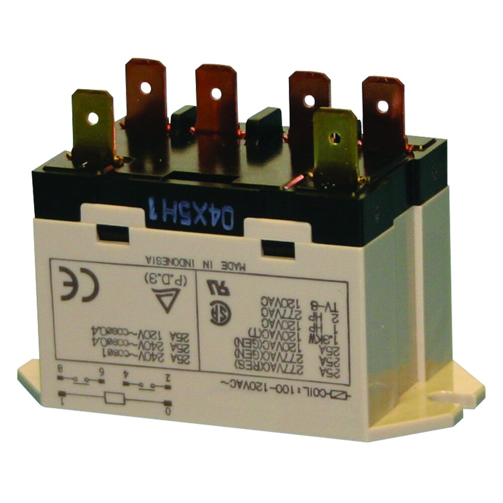 Relay - DPST, 3 HP, 24 VAC redirect to product page
