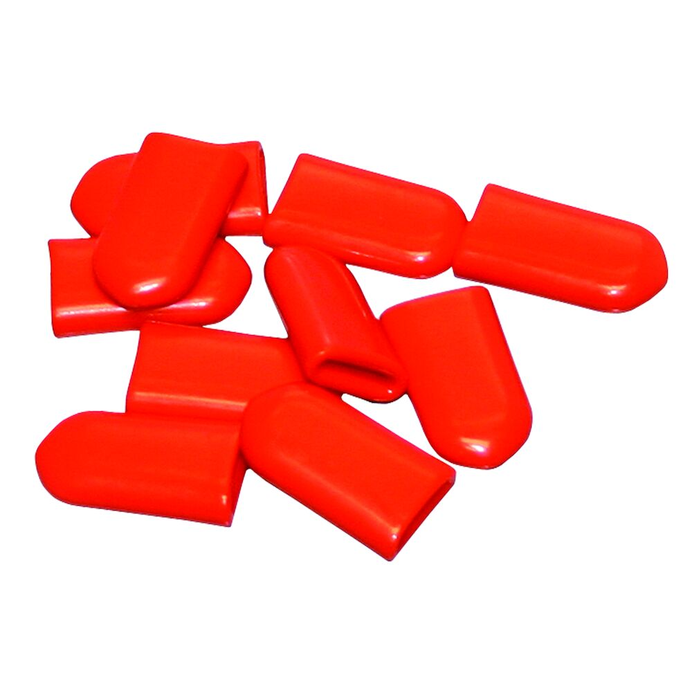Orange Vinyl Cushion/Insulator for Time Switch Manual Lever, 10 pack redirect to product page