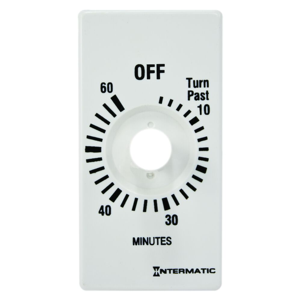 Plate for 60-Min without HOLD, White (FD460MW, FD60MWC) redirect to product page