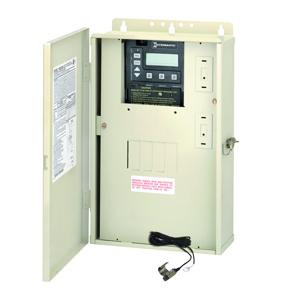 60 A Load Center with P1353ME Mechanism and Freeze Protection Probe redirect to product page