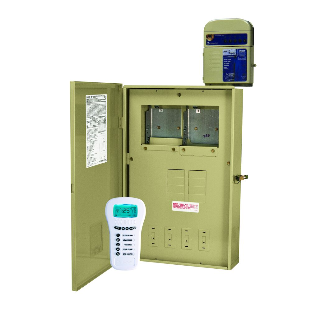 24-Hour MultiWave® Basic Control , 5-Circuit, 80 A Load Center, Type 3R Metal Enclosure redirect to product page