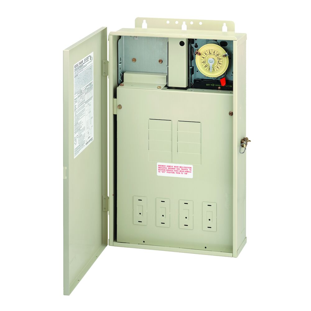 125 A Load Center with T104M Mechanism, 8-Breaker Spaces redirect to product page