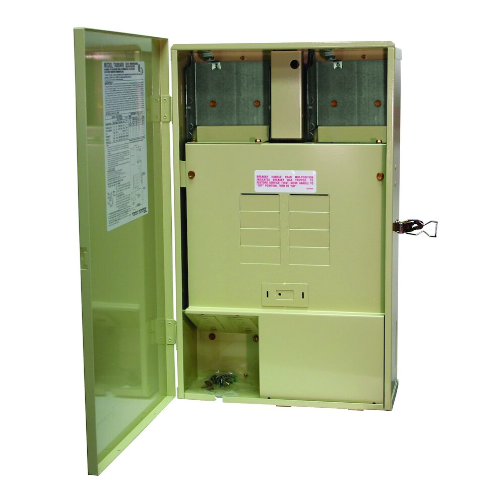 125 A Load Center with Compartment for Optional Wiring Devices, 8-Breaker Spaces redirect to product page