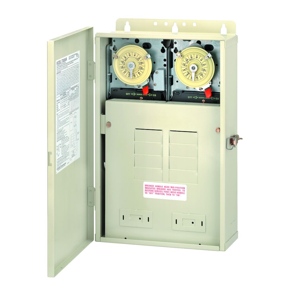 100 A Load Center with T104M201 & T104M Mechanisms, 8-Breaker Spaces redirect to product page