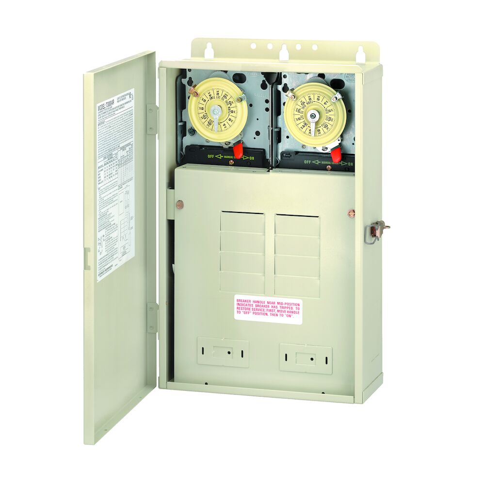 100 A Load Center with T104M & T101M Mechanisms, 8-Breaker Spaces redirect to product page
