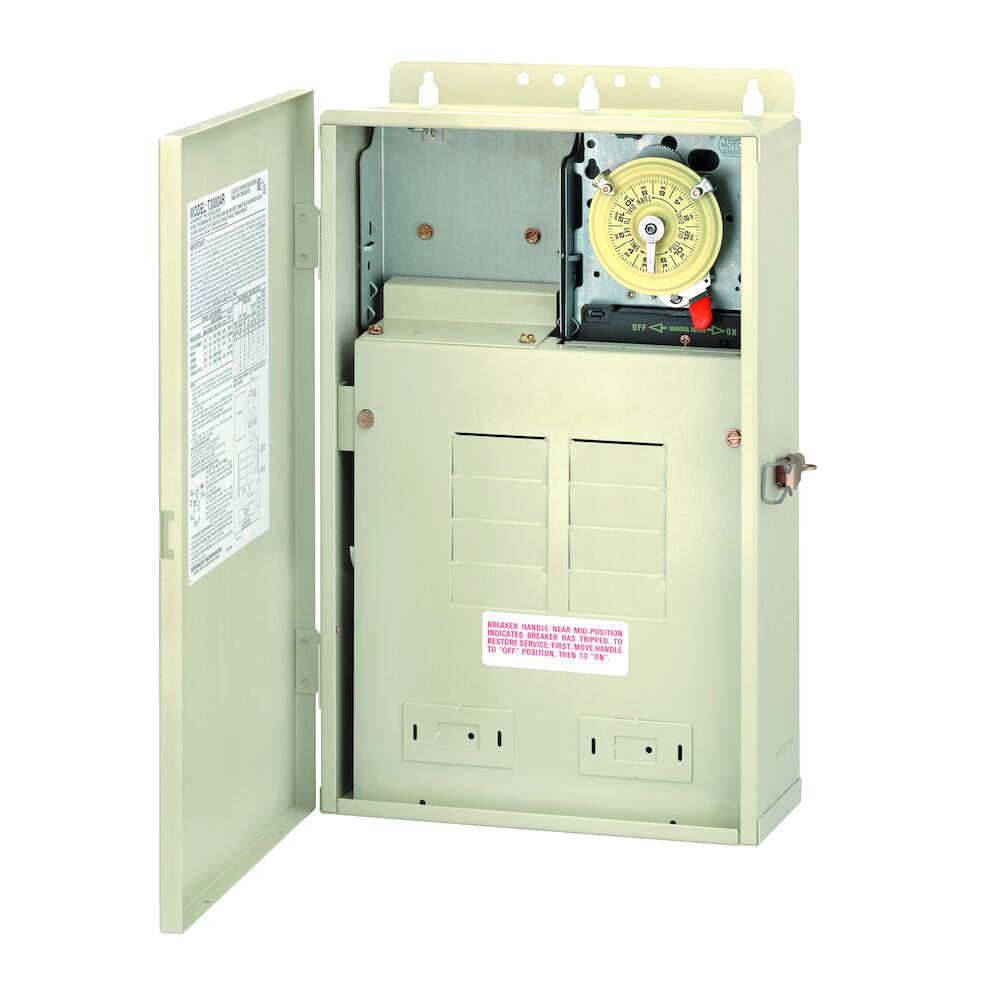 100 A Load Center with T104M Mechanism, 8-Breaker Spaces redirect to product page