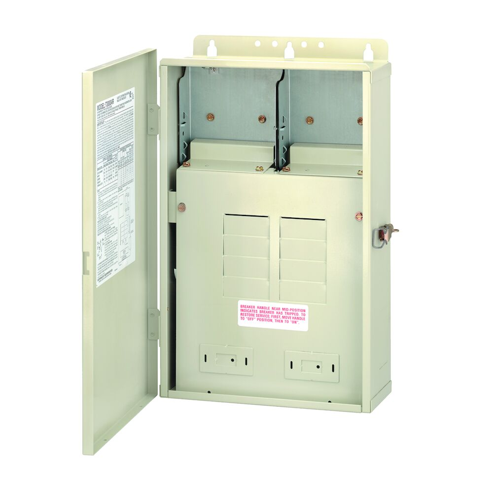 100 A Load Center Only, 8-Breaker Spaces redirect to product page