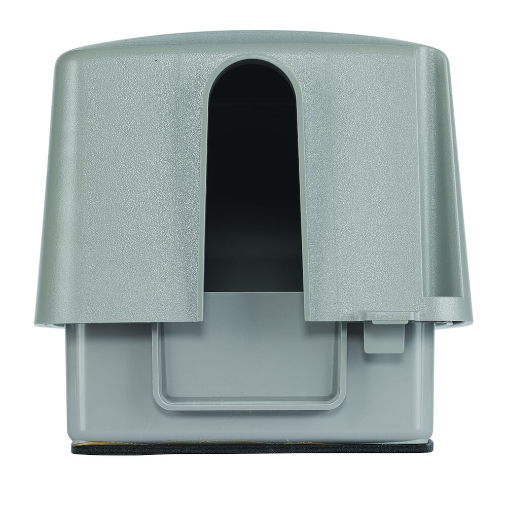 """Extra-Duty Plastic In-Use Weatherproof Cover, Double-Gang, Vrt, 4.75"""" Gray redirect to product page"""