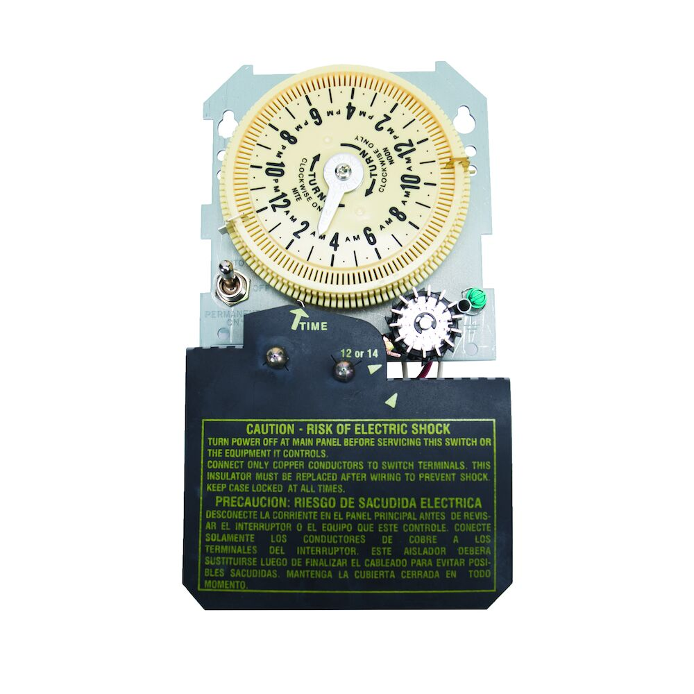 Sprinkler/Irrigation Time Switch with 14-Day Skipper - Mechanism Only redirect to product page