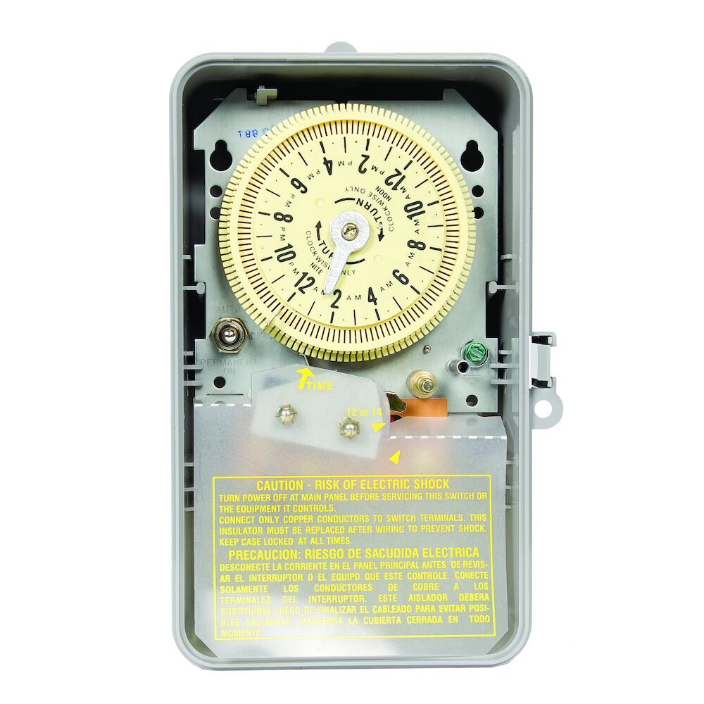 Sprinkler/Irrigation Time Switch with 14-Day Skipper redirect to product page