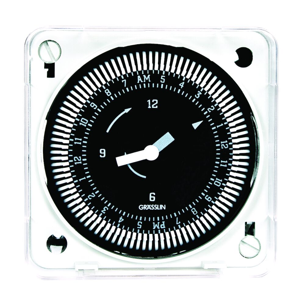 24-Hour 120V Electromechanical Flush Mount Timer Module, 15 Minute Intervals, 21A, SPDT redirect to product page