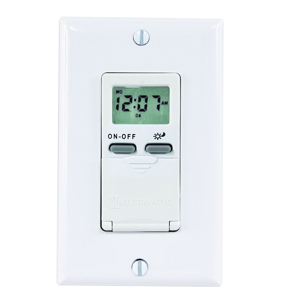 In-Wall Astro Timer - White redirect to product page