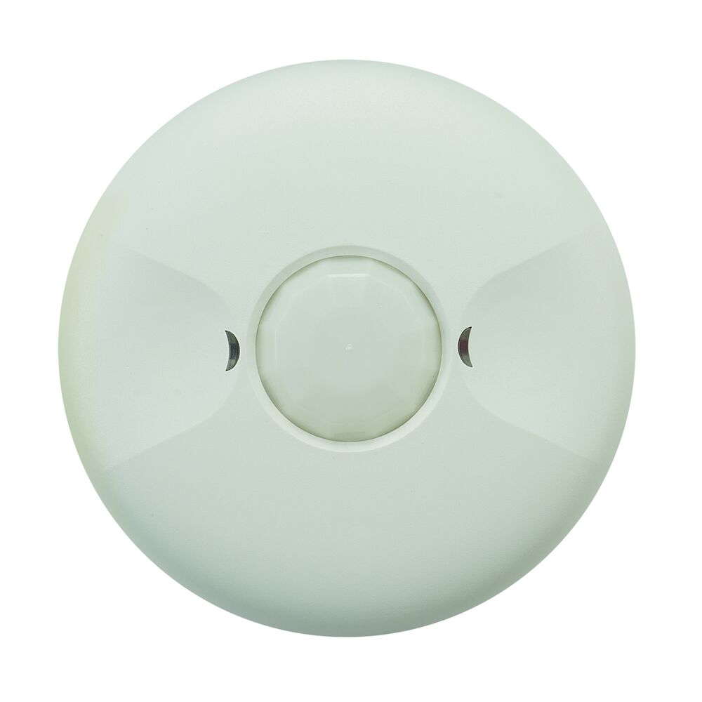 Commercial Grade Line Voltage Ceiling Mount PIR Occupancy Sensor, White redirect to product page