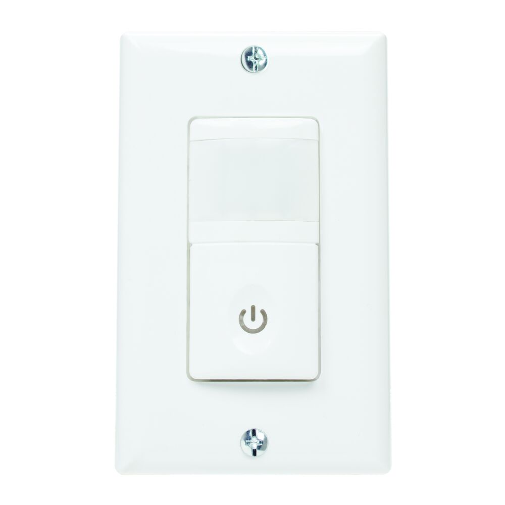 Residential In-Wall PIR Vacancy Sensor, White redirect to product page