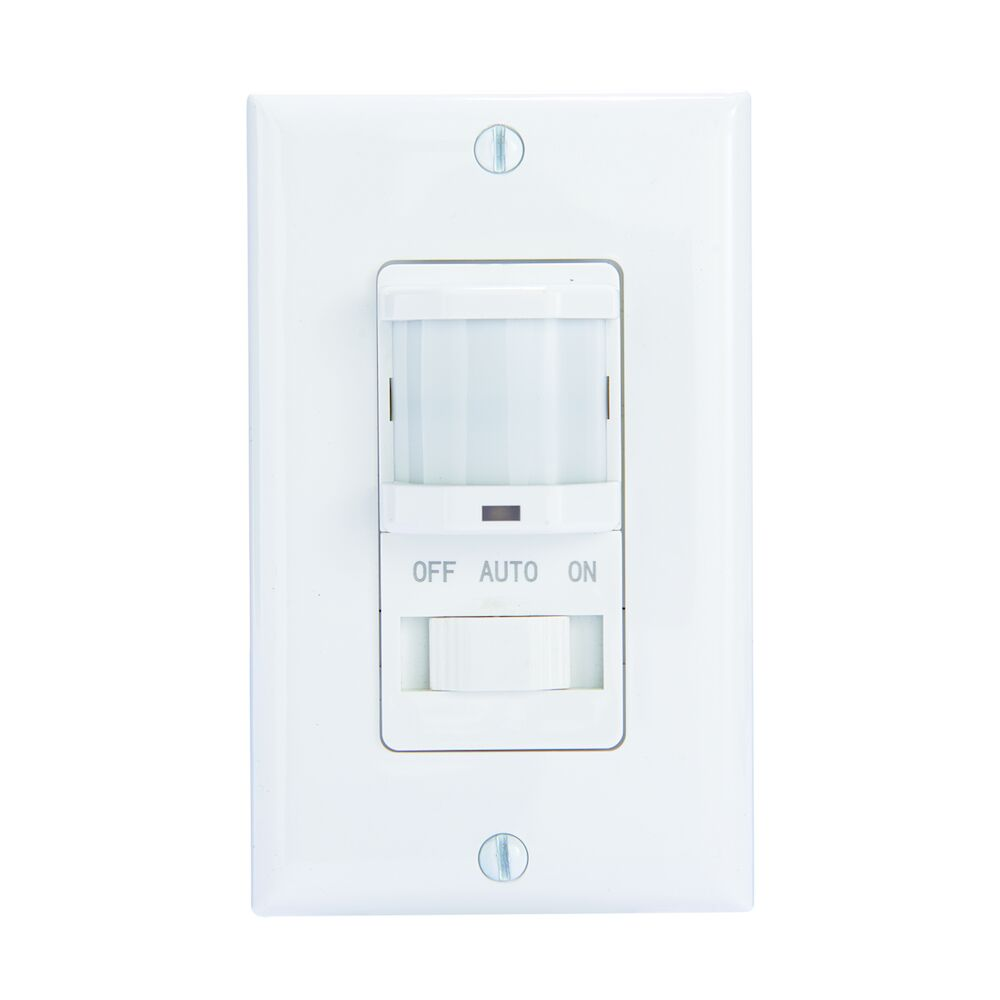 Residential In-Wall PIR Occupancy Sensor, White redirect to product page
