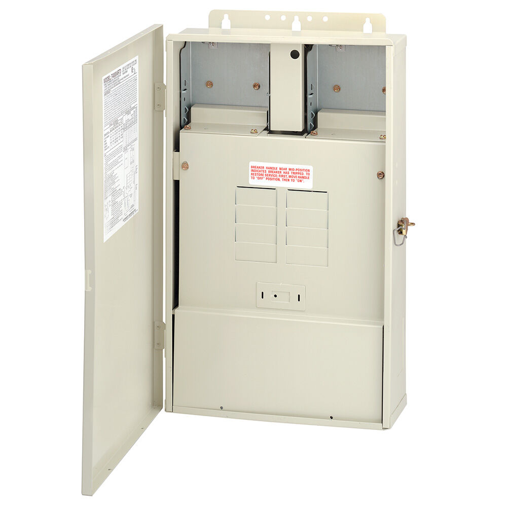 100 A Load Center Only with 300 W Transformer, 8-Breaker Spaces redirect to product page