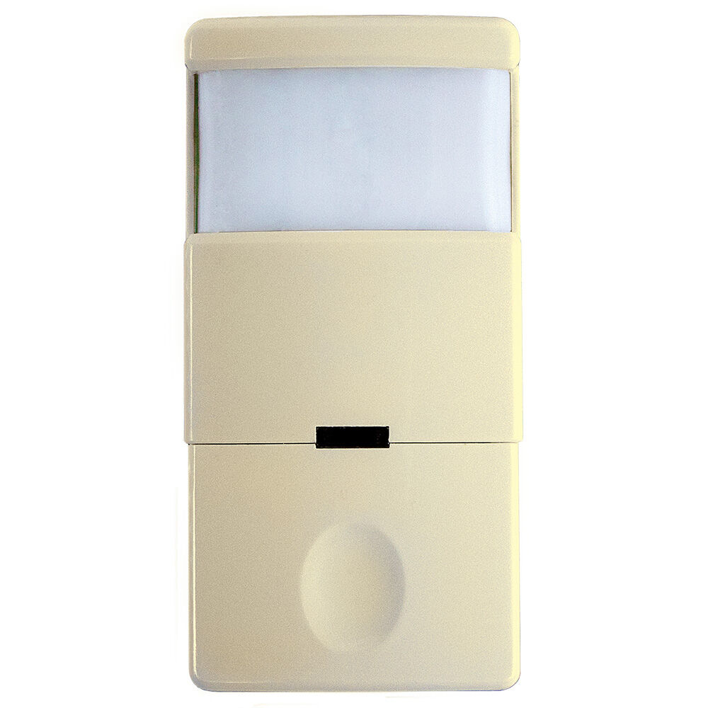 Commercial Grade In-Wall PIR Occupancy/Vacancy Sensor with Nighlight, Ivory redirect to product page