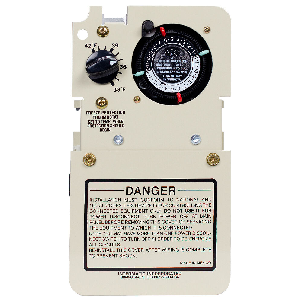 Freeze Protection Timer with Thermostat for 240V Applications, Mechanism redirect to product page