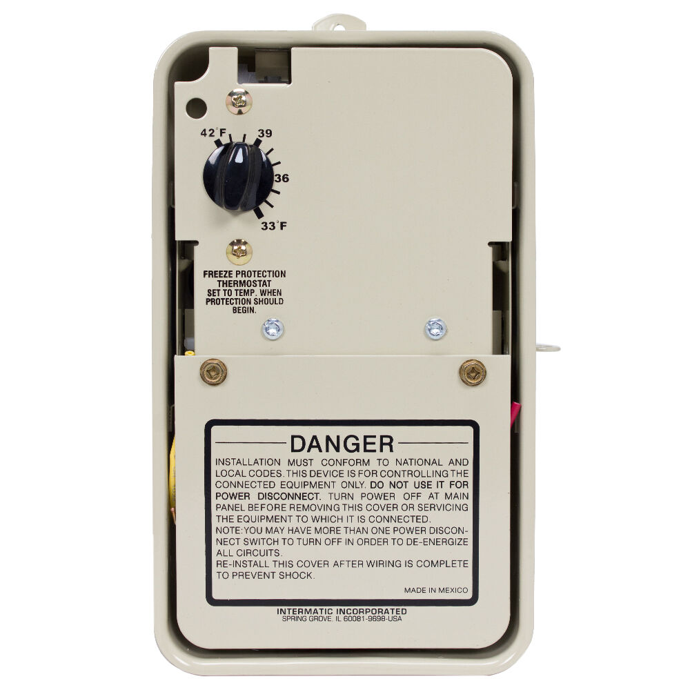 Freeze Protection Thermostat only for 120/240V Applications, Type 3R Metal Enclosure redirect to product page