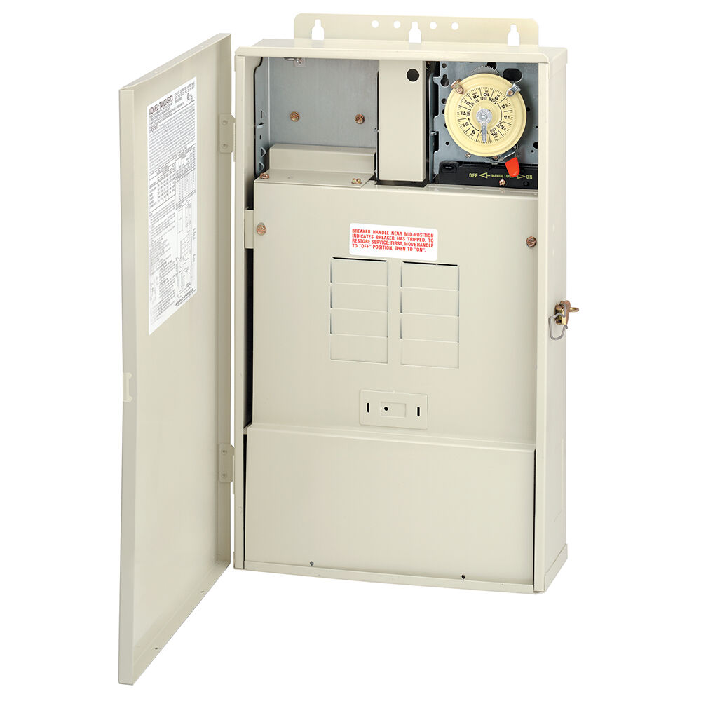 100 A Load Center with 100 W Transformer and T104M Mechanism, 8-Breaker Spaces redirect to product page