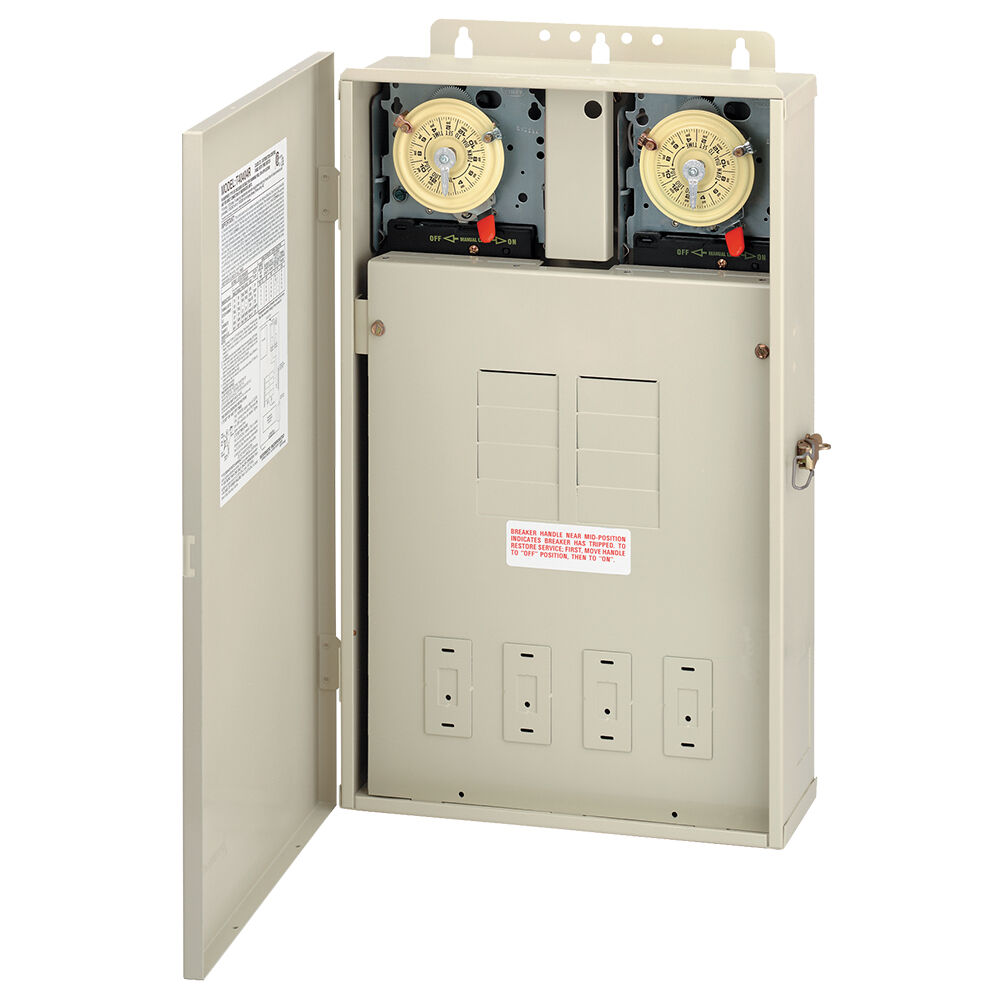 125 A Load Center with Two T104M Mechanisms, 8-Breaker Spaces redirect to product page