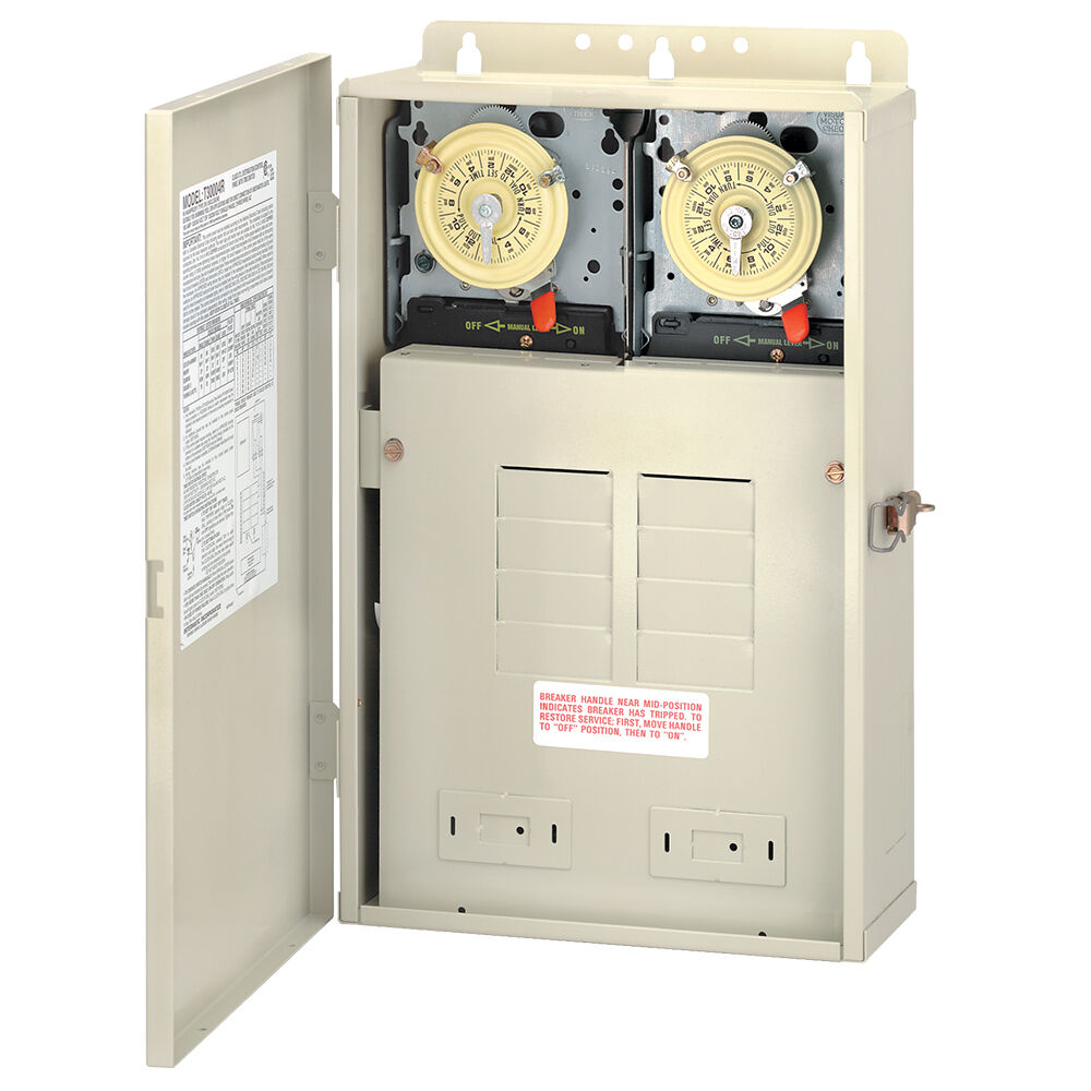 100 A Load Center with Two T104M Mechanisms, 8-Breaker Spaces redirect to product page