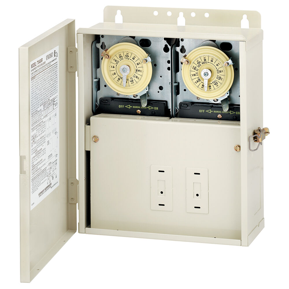 Control Panel with Two T104M Mechanisms redirect to product page