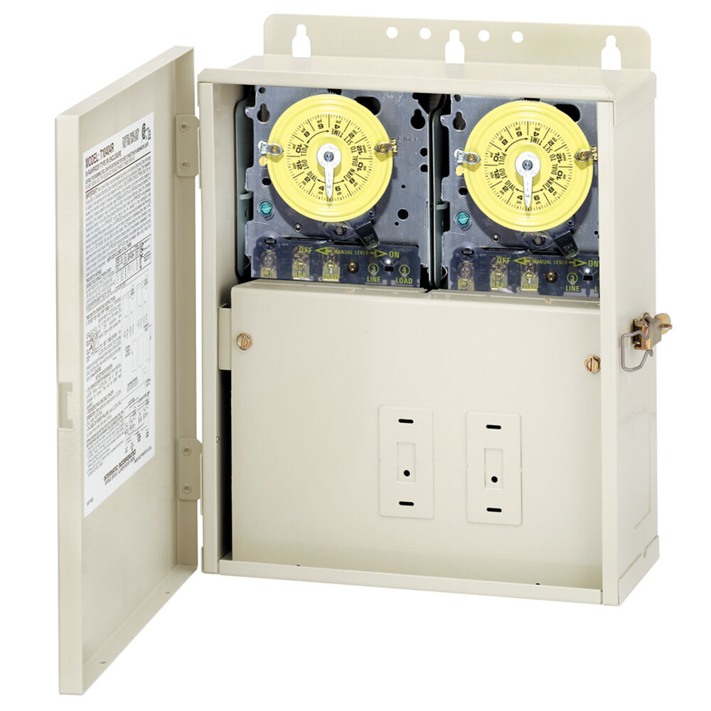 Control Panel with Two T101M Mechanisms redirect to product page