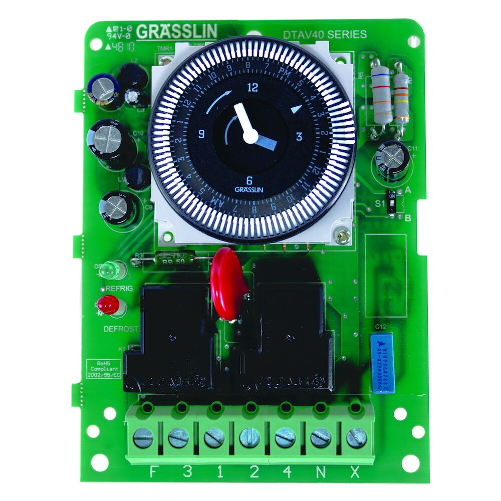 24-Hour Electromechanical Defrost Timer - Mechanism Only redirect to product page