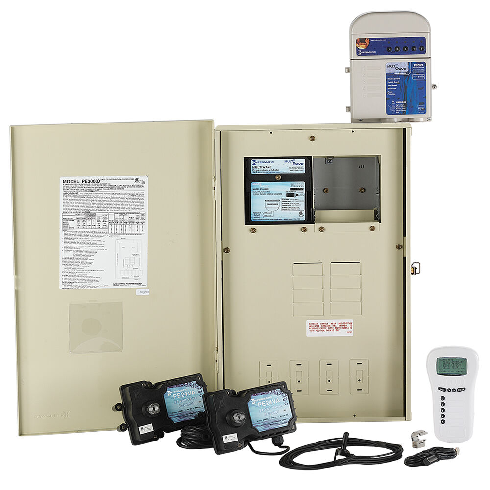 MultiWave® ECS System with 80 A Load Center, Expansion Module and Two Valve Actuators redirect to product page