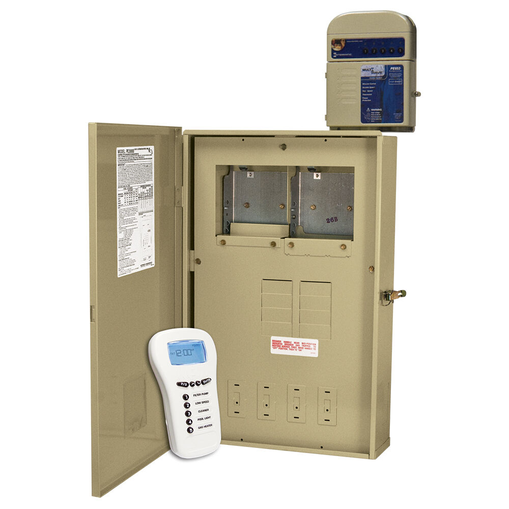 24-Hour MultiWave® Basic Control , 5-Circuit, 80 A Load Center, 300 W Transformer, Type 3R Metal Enclosure redirect to product page