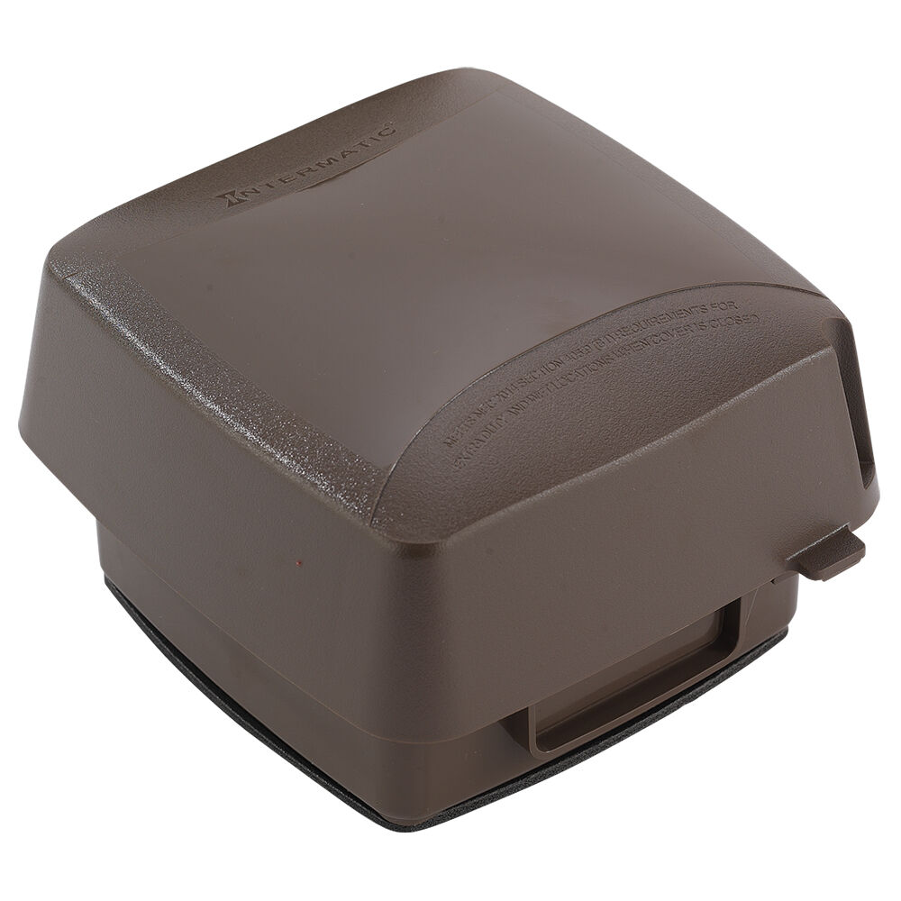 """Extra-Duty Plastic In-Use Weatherproof Cover, Double-Gang, Vrt, 3.625"""" Bronze redirect to product page"""