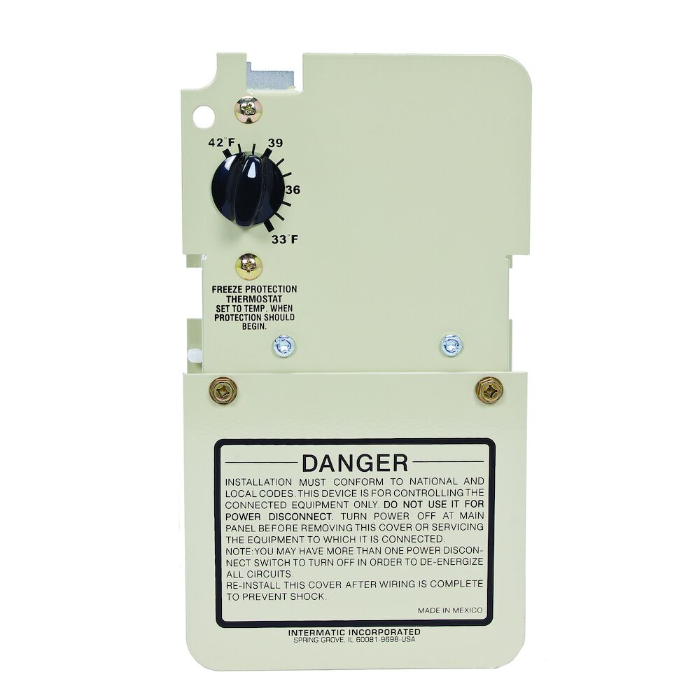 Freeze Protection Thermostat only for 240V Applications, Mechanism redirect to product page