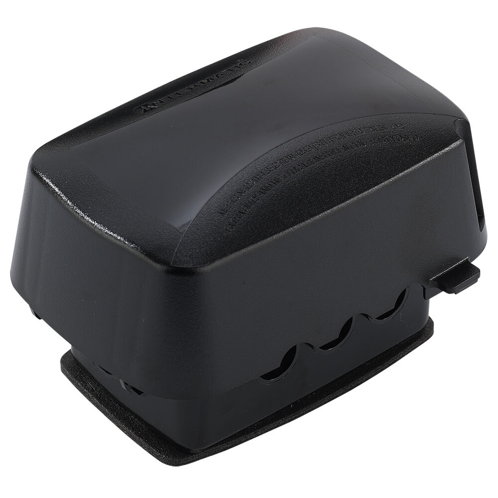 """OBSOLETE Extra-Duty Plastic In-Use Weatherproof Cover, Single-Gang, Vrt/Hrz, 3.625"""" Black redirect to product page"""