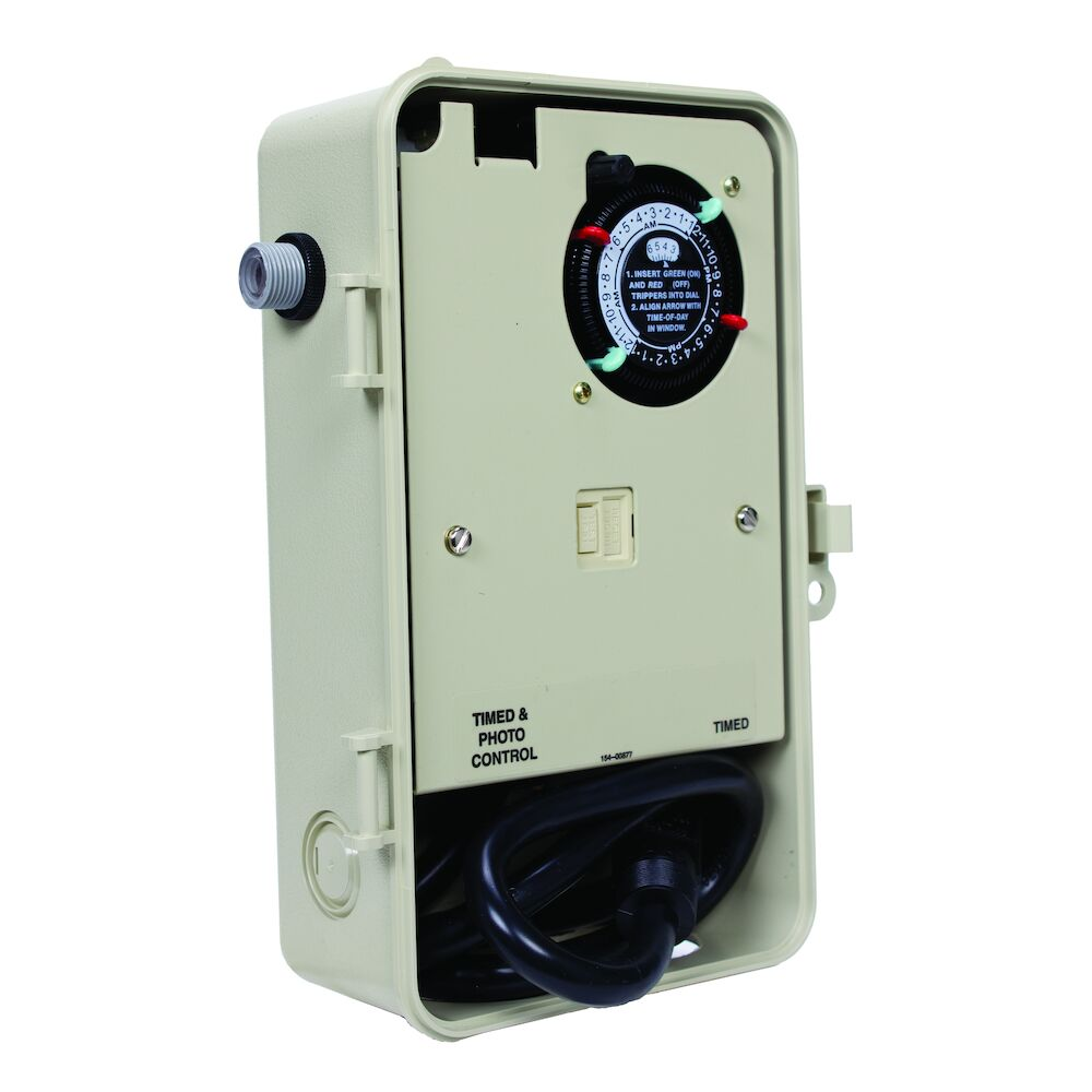 Two-Circuit Portable Outdoor Timer with Photocontrol redirect to product page