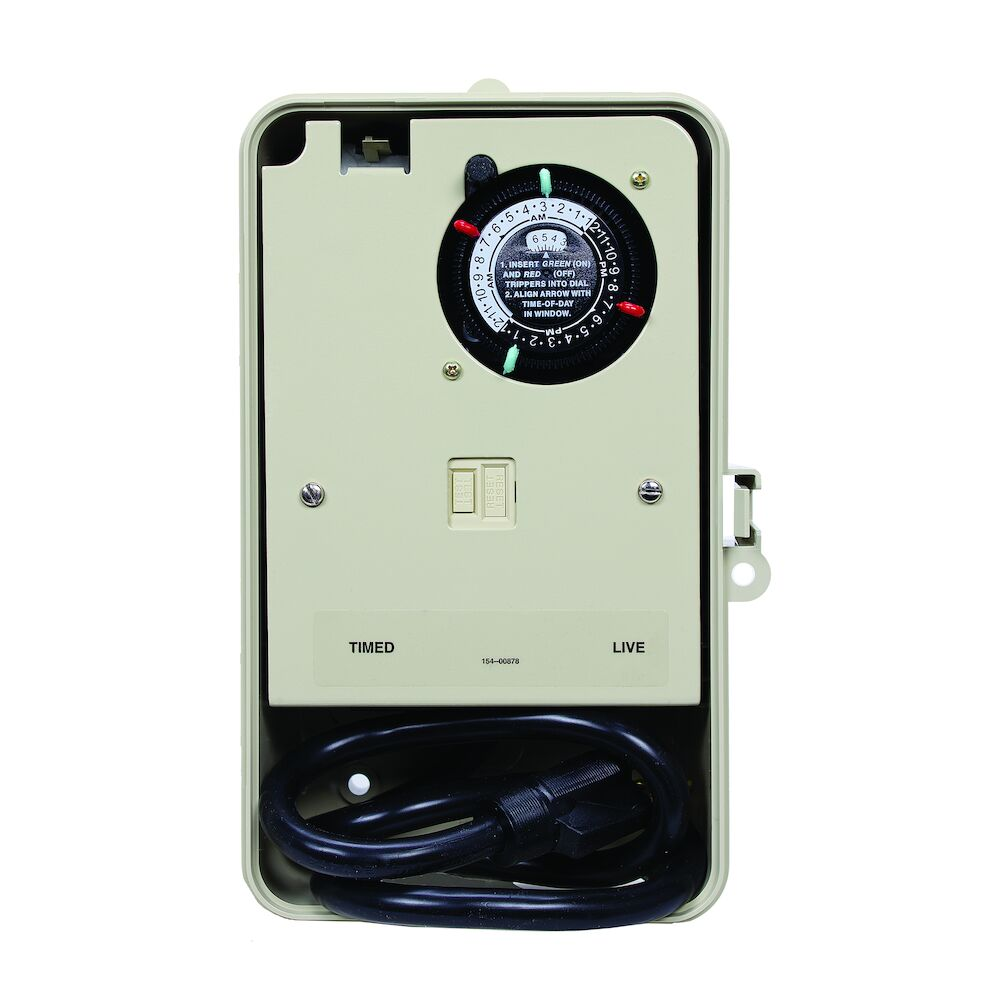 Two-Circuit Portable Outdoor Timer redirect to product page
