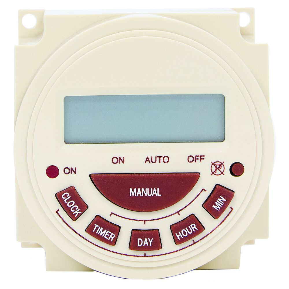 7-Day 240V Electronic Panel Mount Timer redirect to product page