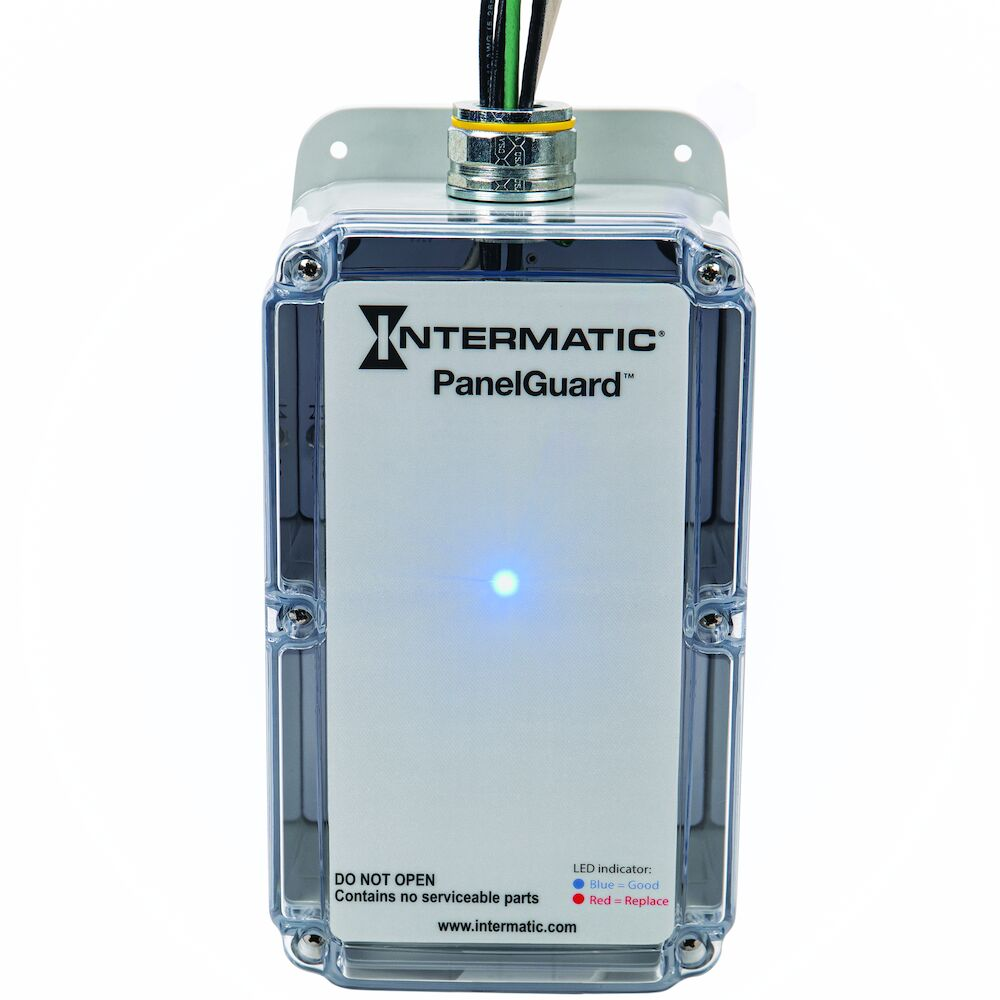 Surge Protective Device, 4-Mode, 120-240 VAC 1 Ph, Type 1, Audible Alarm, Form C Contact, Surge Current Rating 100kA redirect to product page