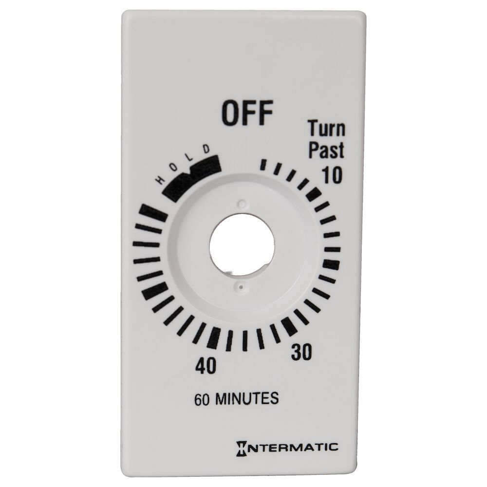 Plate for 60-Min with HOLD, White (FD60MHW) redirect to product page