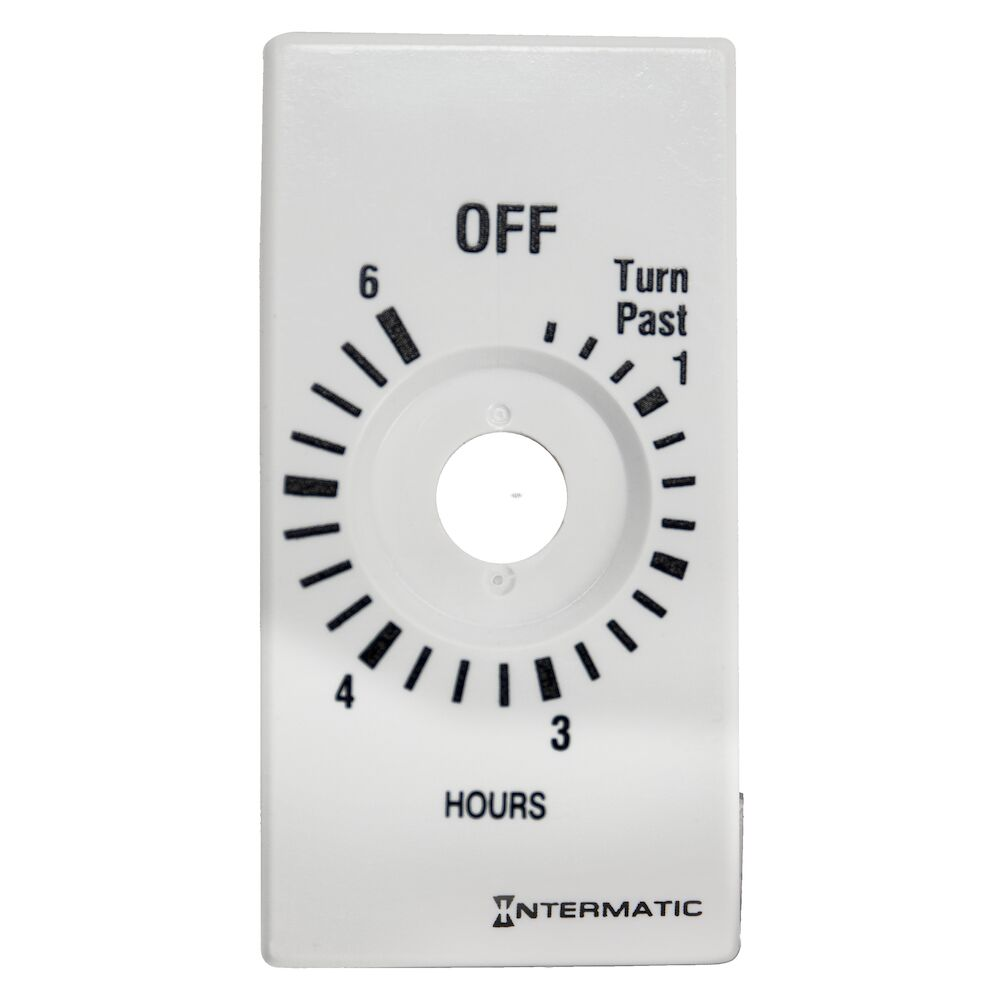 Plate for 6-Hr without HOLD, White (FD46HW, FD6HW) redirect to product page