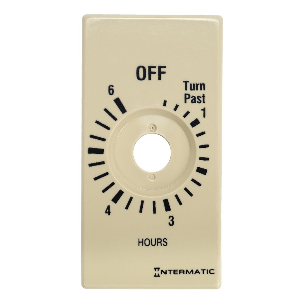 Plate for 6-Hr without HOLD, Ivory (FD36H, FD46H, FD6H) redirect to product page