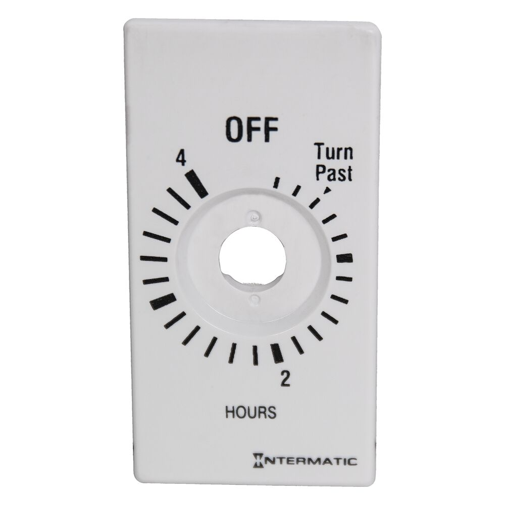 Plate for 4-Hr without HOLD, White (FD34HW, FD4HW) redirect to product page